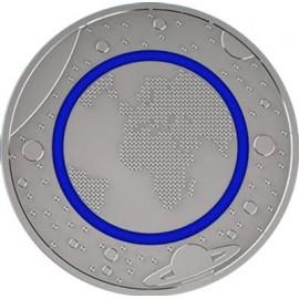5 Euro  Blauer Planet Erde 2016 Stempelglanz div. Buchstabe