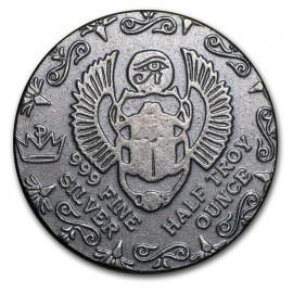 1/2 Unze Silber Ägyptischer Pharao  Monarch  USA