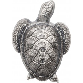 45 g  Silber Turtle High Relief Palau