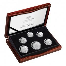 61,5 g Silber 2017 PP KMS 6 Coin Set RAM Australien
