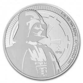 1 Unze Silber Darth Vader Star Wars Niue 2017