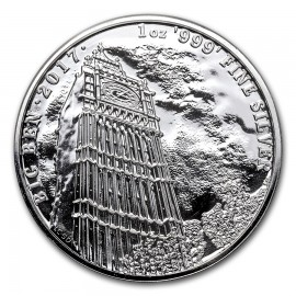 1 Unze Silber Big Ben UK 2017