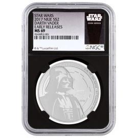 1 Unze Silver Darth Vader 2017