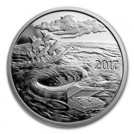1 Unze Silber  Round - 2017 Silverbug Island Whirlpool (Prooflike)  VVK
