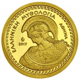 100 Euro Gold 2017 Athena Griechenland in PP