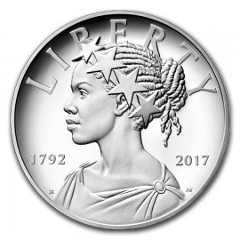 1 Unze Silber  American Liberty 2017 PP 225th Jubiläum