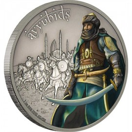 1 oz  Silver Ayyubids Warrior of History PP 2016