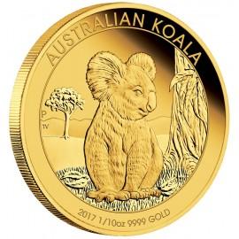 1/10 oz Koala Gold 2017