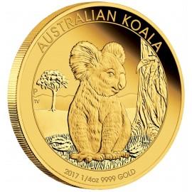 1/4 oz Koala Gold 2017