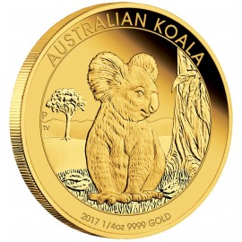 1/4 oz Koala Gold 2017 PP
