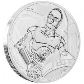 1 Unze Silber C-3PO™ Star Wars Niue