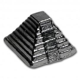 5 Unzen Silber 999 Handgegossene  Chichen Itza Aztec  Pyramid Pyramide
