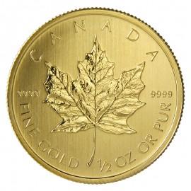 1/2 oz Maple Leaf 2015 Gold