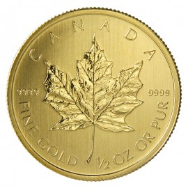 1/2 oz Maple Leaf 2015 Gold