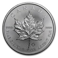 500 x 1 Unze Silber Maple Leaf 2017