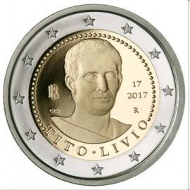 Italien 2 Euro Titus Livius Münze 2017 PP Gedenkmünze im Etui mit Zertifikat