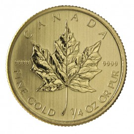 1/4 oz Maple Leaf 2015 Gold