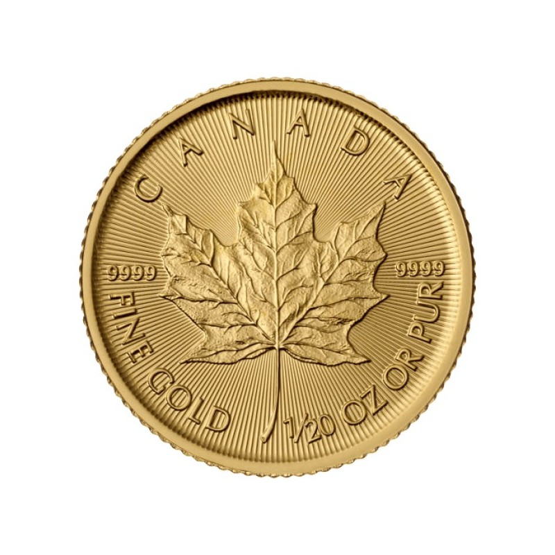 1/20 oz Maple Leaf 2015 Gold