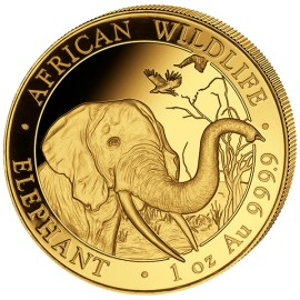 1 oz Somalia Elefant Gold 2018