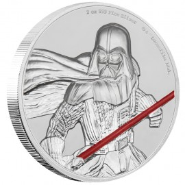 2 Unze oz   Silber  STAR WARS™ - Darth Vader  PP  Ultra High Relief
