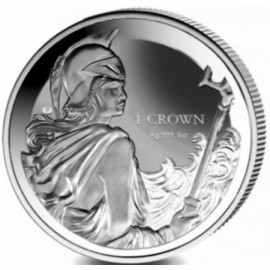 1 Unze Silber Falkland Islands  Britannia 2017 Reverse Proof