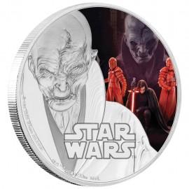 1 Unze oz Silber Last Jedi  Supreme Leader Snoke Star Wars Niue Box PP