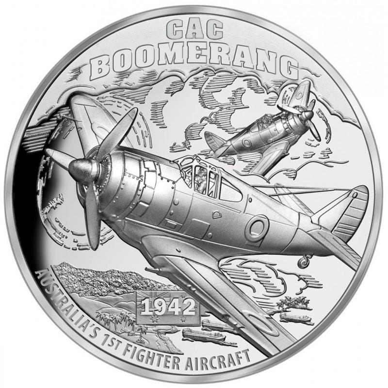 1 Unze Silver CAC Boomerang2017