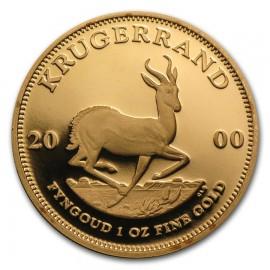 1 oz Unze Gold Krügerrand 2000  PP Box