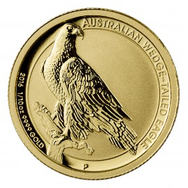 1/10 oz Gold Australian Wedge Tailed Eagle MS 70 2016