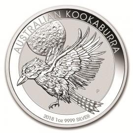 1 oz Silver Australien Kookaburra 2018