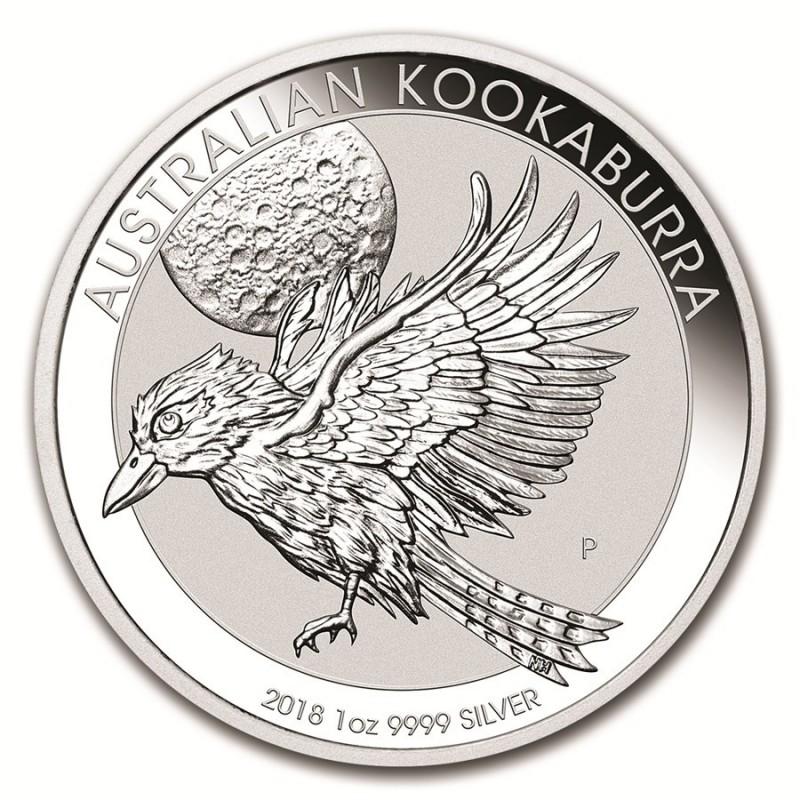 1 Unze Silber Australien Kookaburra 2018