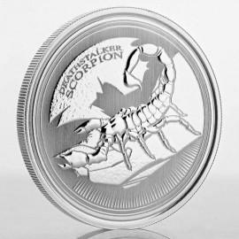 1 Unze Silber Scorpion Deathstalker Tschad 2017