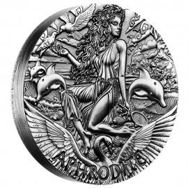 2 Unzen Silber Apfrodite PP Godesses of Olympus