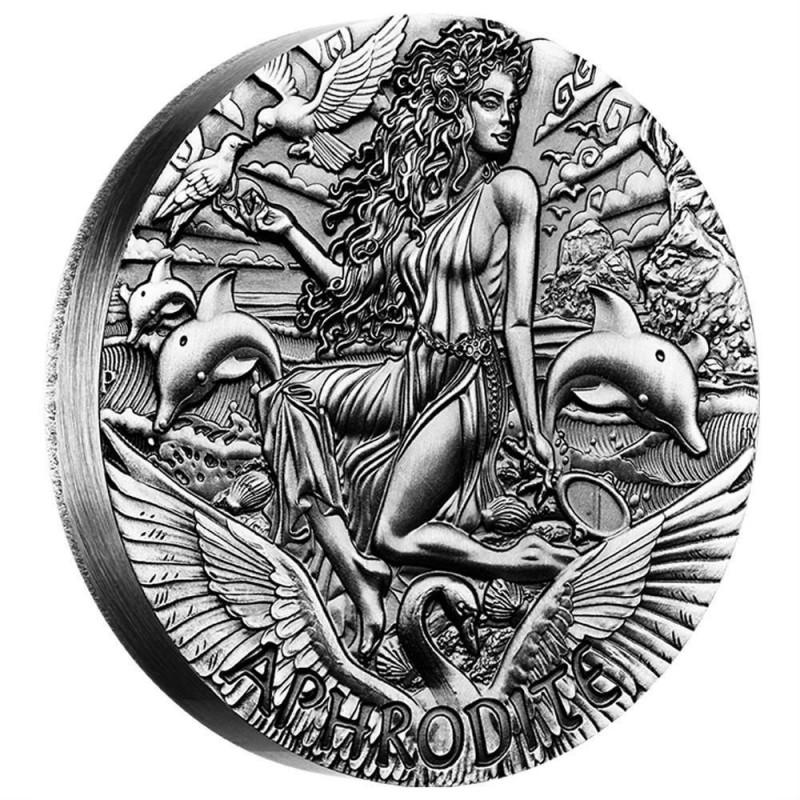 2 oz Silver PP Afrodite 2015