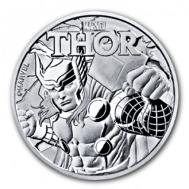 1 Unze Silber Thor Marvel 2018  Tuvalu