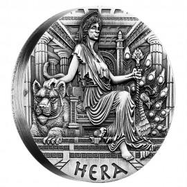 2 Unzen Silber Hera PP Godesses of Olympus