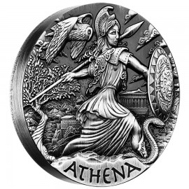 2 Unzen Silber Athena PP Godesses of Olympus