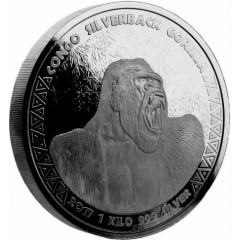 1 kg Silver  silverback Gorilla Kongo 2017
