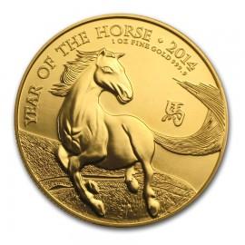 1 oz Lunar UK Horse Pferd  2014