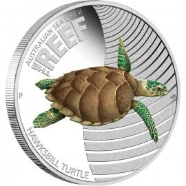 1/2 Unze Silber Seal Life II Turtle PP