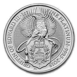 1 oz Queens Beasts Platin