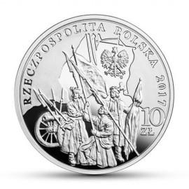 10 Zloty  Silber Polen 200 Todestag Tadeusz Kosciuszko Proof