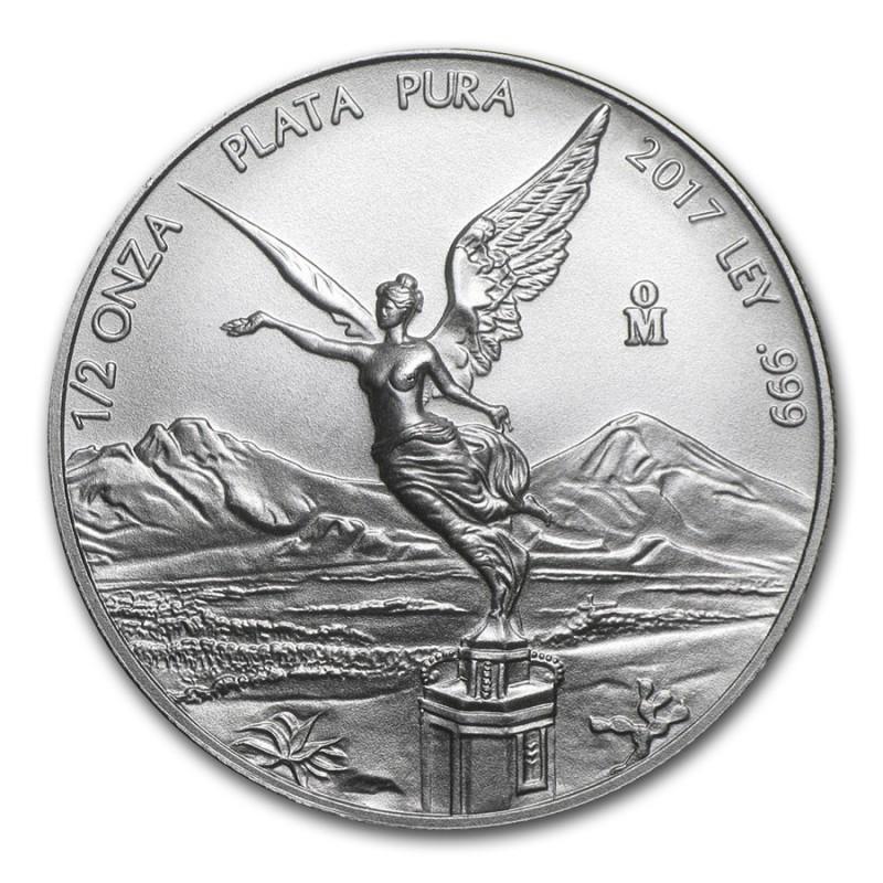 1/2 Unze Silber Mexiko Libertad 2016