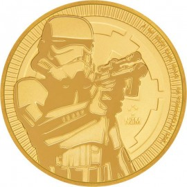 1 oz  Gold Niue Stormtrooper