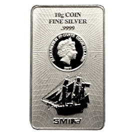 5 g Silber Cook Islands Münzbarren  Coin bar