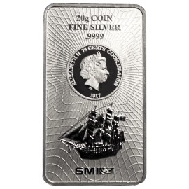 10 g Silber Cook Islands Münzbarren  Coin bar