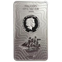500 g  Silber Cook Islands Münzbarren  Coin bar