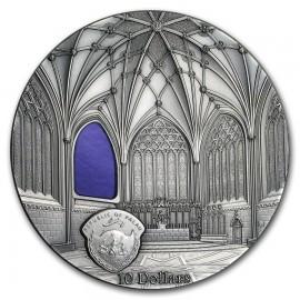 2 Unzen Silber Tiffany WELLS CATHEDRAL  Art