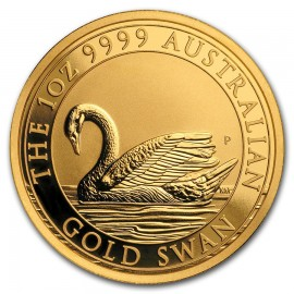 1 oz Unze Gold  Swan Schwan Perth Mint 2017