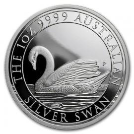 1 Unze Silber Schwan Perth Mint 2017 PP Box